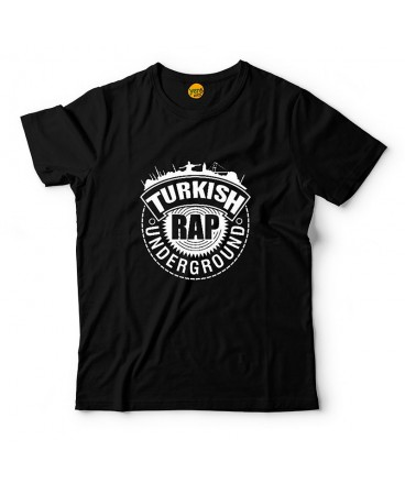 Turkish Rap Logo Siyah T-Shirt