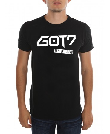 K-POP G OT 7-Fly in Japan Erkek (Unisex) T shirt