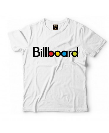 Billboard - T-Shirt - Beyaz